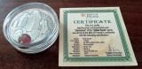NIUE - 1 Dolar 2011 - Carnuntum - Argint + Chihlimbar - in capsula +certificat