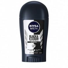 Nivea Deodorant stick Barbati 40 ml Invisible Black White Original