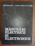 Masurari electrice si electronice- Paul Manolescu, Carmen Ionescu-Golovanov