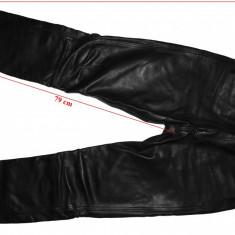 Pantaloni piele moto Highway, barbati, marimea 98 (cca.M)