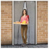Perdea anti-ţânţari pt. uşi închidere magnetică, 100 x 210 cm, Model floral ManiaMall Cars