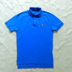 Tricou Polo Ralph Lauren. Marime XS: 46.5 cm bust, 63 cm lungime etc.; ca nou