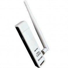 Card wireless TL-WN722N, 150 MB, USB+ANT