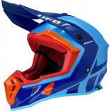 Casca motocross Ufo Quiver , culoare albastru/portocaliu , marime L Cod Produs: MX_NEW HE125L