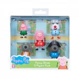 Set 5 figurine Peppa Pig Fancy Dress W2