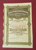 Actiuni 1929 BCR - Banca comerciala romana - titlu - actie - document