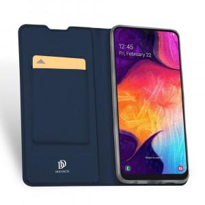 Husa Samsung Galaxy A50 - DUX DUCIS Book Type Blue