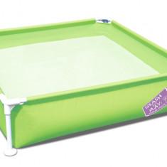 Bestway Piscina cu Cadru Metalic 122 cm, Verde