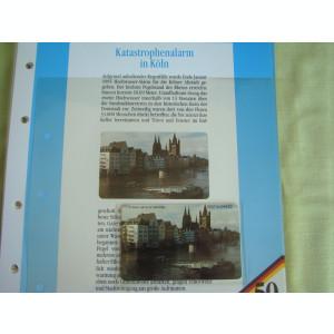 3 Cartele Telefonice 50 Jahre Deutschland - Exponate NOI / 29