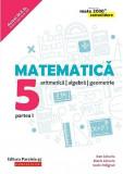 Matematica. Clasa a V-a. Partea 1 - Consolidare | Dan Zaharia, Maria Zaharia, Sorin Peligrad, Paralela 45