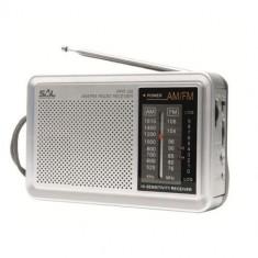 Radio portabil Sal RPR 2B, argintiu, 300 g, 155 x 100 x 45 mm Mania Tools
