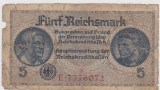 5 REICHS MARK GERMANIA FARA AN APROXIMATIV 1933 F SPRE F