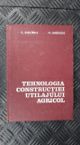 TEHNOLOGIA CONSTRUCTIEI UTILAJULUI AGRICOL -   C. CIOCIRDIA