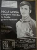 Revista Sport(nr.10 octombrie 1977) - Dudu Georgescu a doua gheata de aur-Dinamo
