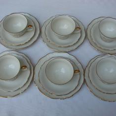 Set de cafea din portelan german EDELSTEIN Bavaria Maria Theresia