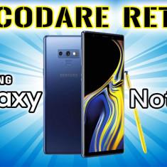 Decodare retea SAMSUNG Galaxy Note 9 n960 SIM Unlock
