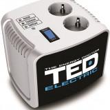 Stabilizator de retea maxim 1000VA / 500W Ted 1000