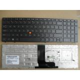 Tastatura laptop noua HP 8560W Black Frame Black US