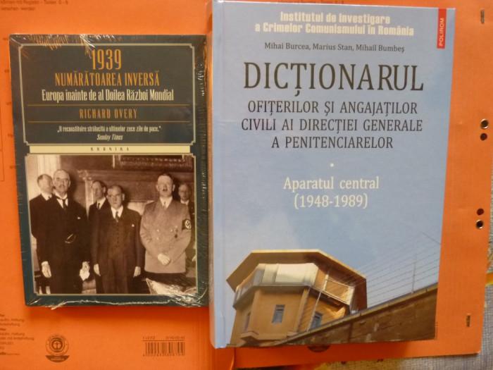 Europa inainte de al doilea razboi mondial + Dictionarul ofiterilor de
