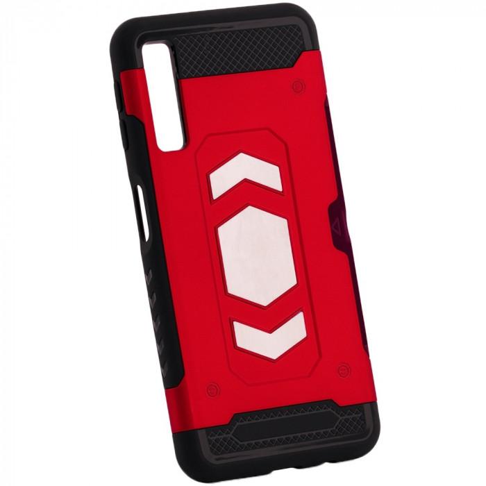 Husa SAMSUNG Galaxy A7 2018 - Forcell Magnet (Rosu)