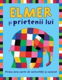 Elmer şi prietenii lui. Prima mea carte de activitati si colorat, Pandora-M