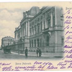 4579 - BUCURESTI, National Bank, Romania, Litho - old postcard - used - 1901, Circulata, Printata