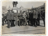 B2333 Ofiteri romani jandarmi 1935 Oradea poza veche