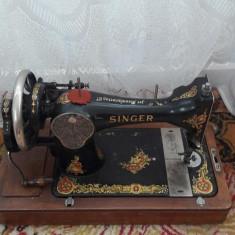 Masina de cusut Singer vintage seria F