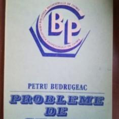 Probleme de chimie- Petru Budrugeac
