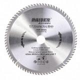 Cumpara ieftin Disc circular Raider, 254 x 30 mm, 80T