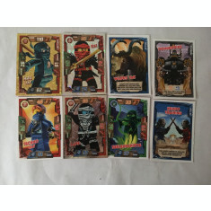 Lego Ninjago Trading Cards, 2016 - 8 cartonase de colectie