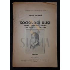 OSSIP LOURIE - SOCIOLOGI RUSI