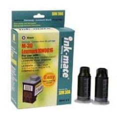 Kit complet de refil cerneala black pentru cartuse Lexmark 82
