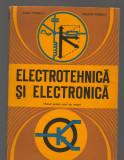 C9501 ELECTROTEHNICA SI ELECTRONICA - ANCA POPESCU. MANUAL PENTRU SCOLI MAISTRI