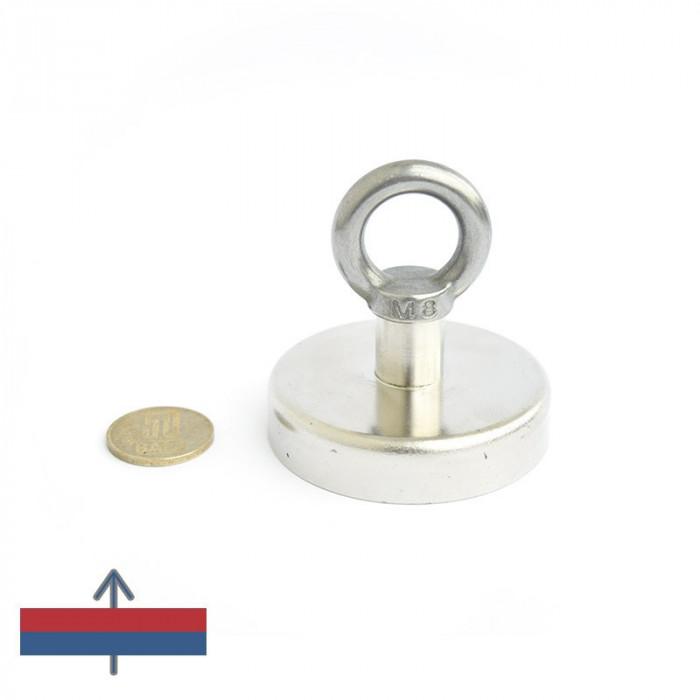 Magnet ferită oală D 63 mm