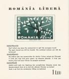 Spania/Romania, Exil romanesc, em. a XXX-a, Europa 1962, col. ned., 1962, MNH, Nestampilat