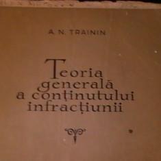 TEORIA GENERALA A CONTINUTULUI INFRACTIUNII-A.N. RAININ-341 PG-