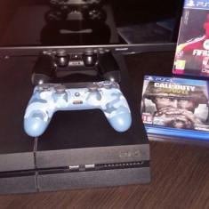 Consola PS4 1TB +1 controller +5 jocuri.