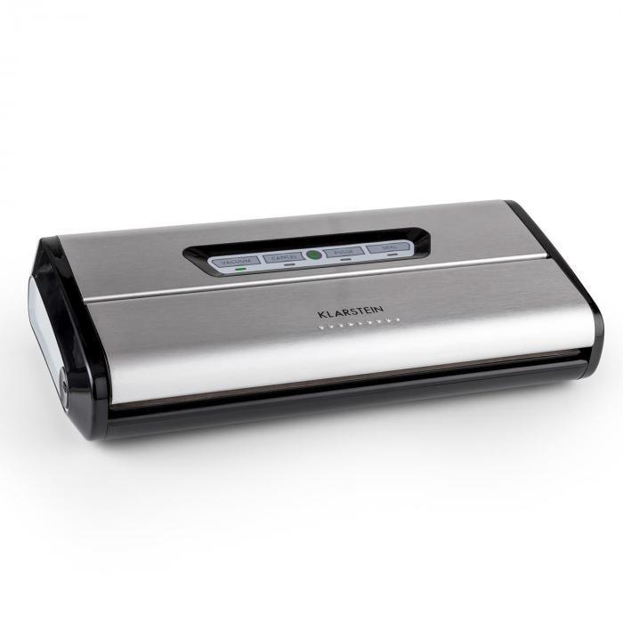 Klarstein Klarstein alimentară vacuum din otel inoxidabil Locker 0,8 bar 16 l / min