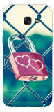 Husa Silicon Soft Upzz Print Samsung A5 2017 Model Heart Lock