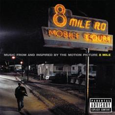 Eminem 8 Mile Original Soundtrack (cd)
