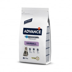 Advance Cat Adult Hairball Curcan si Orez 1,5 kg