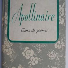 Choix de poemes – Apollinaire