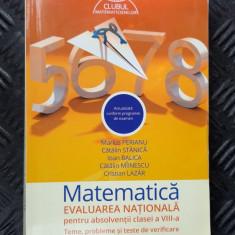 MATEMATICA CLASA A VIII A EVALUAREA NATIONALA - PERIANU ,STANICA ,LAZAR ,BALICA