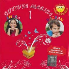 CD Andra, Razvan – Cutiuta Magica 1, original