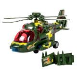Cumpara ieftin Elicopter militar Bump Go, lumini si sunete, 3 ani+
