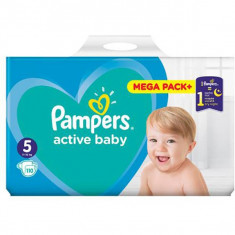 Scutece PAMPERS 81680873 Active Baby 5 Mega Box 110 buc