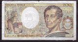 Franta 1992 - 200 francs, uzata