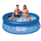 Piscina gonflabila Intex Easy Set Clearview 56970/28110 244 x 76 cm, Rotund