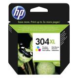 Cartus original HP 304XL N9K07AE Color